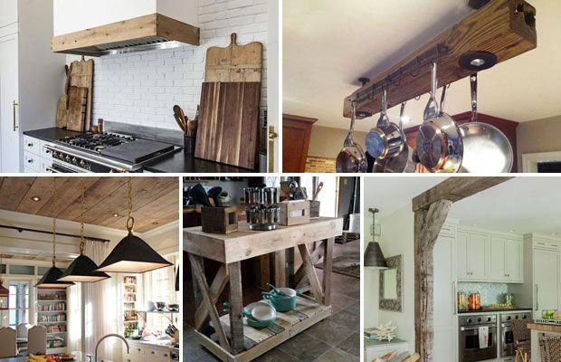 Adding Reclaimed Wood Details To Any