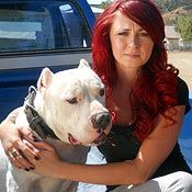 Mariah from Pitbulls and Parolees is a great speaker for the pits