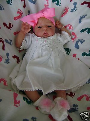 Lilleth by Donna Lee Sold Out Limited 15 World Wide Solid Silicone Preemie Baby