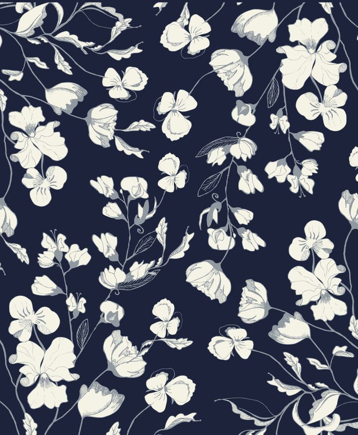 Best 25 floral pattern wallpaper ideas on pinterest for Best black and white prints