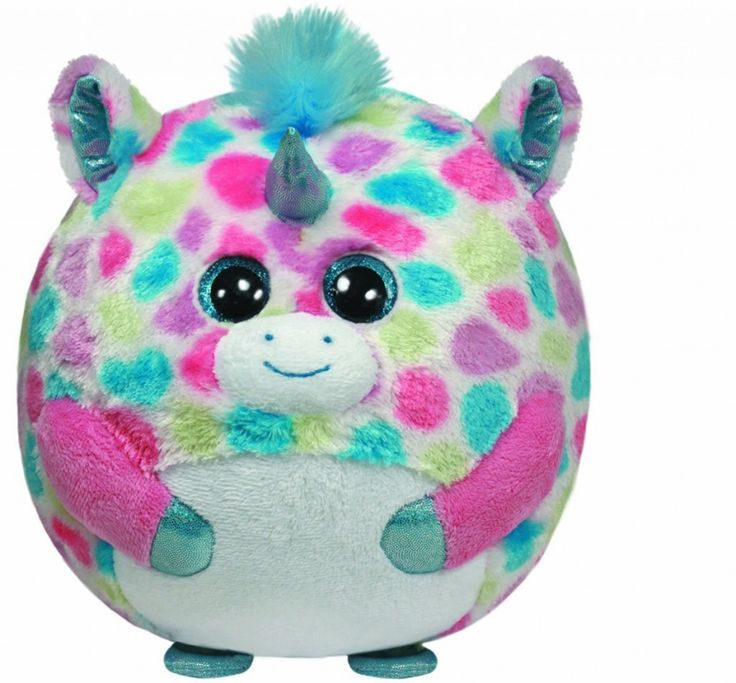 The Ty Beanie Ballz Fable Plush Unicorn is a multi-colored plush unicorn suitable for ages 3 and up. Like all Ty plush, it is high quality and collectible.