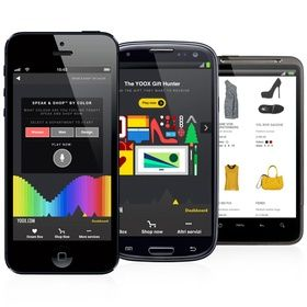 Yoox.com fashions a mobile app consumers can talk to