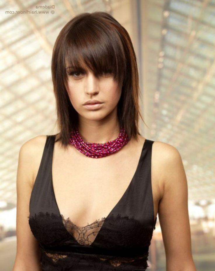 medium short shaggy hair with bangs - Google Search