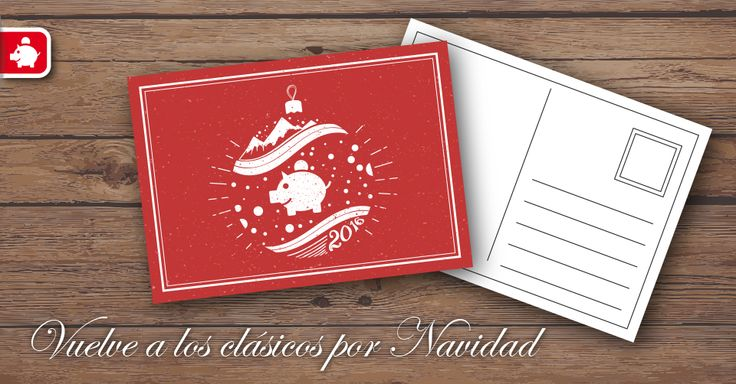 Vuelve a los clásicos por Navidad con nuestras postales. 200 postales por sólo 16,80€. ¡Nos las dejes escapar! #postalesnavidad #imprentaonline #optimismo