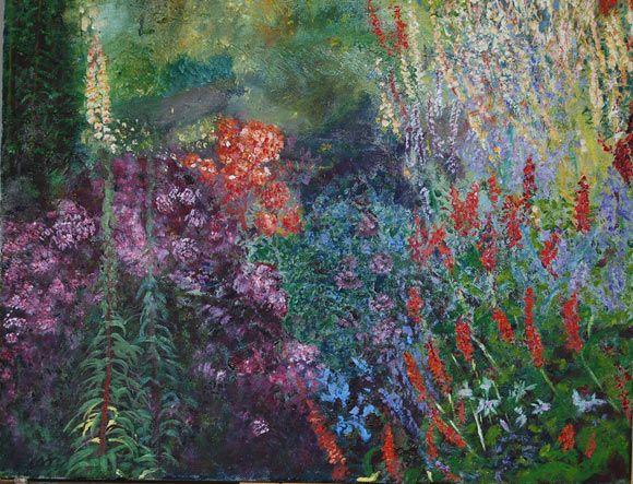 Spring Garden. 2012. Oil on canvas. 52 x 41cm