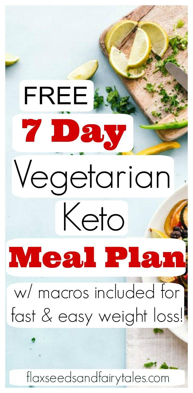 7 Day Keto Diet Plan Vegetarian