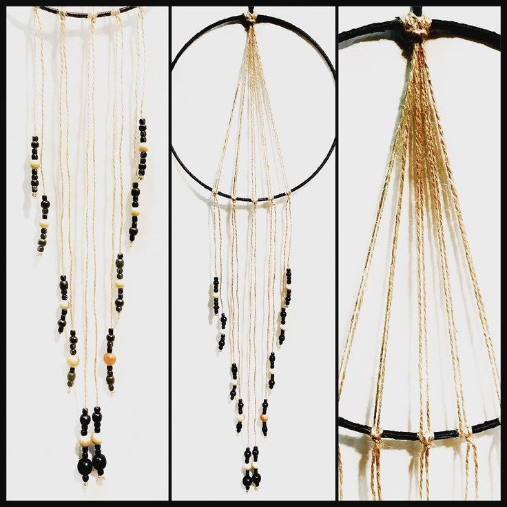 Wall hanging with wooden beads and twine! #torileydesigns #unique #handmade #beads #wallhanging #wood http://ift.tt/2rLdB4E