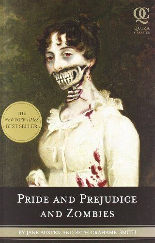 Pride and Prejudice and Zombies: The Classic Regency Romance - Now with Ultraviolent Zombie Mayhem! by Jane Austen, http://www.amazon.com/dp/1594743347/ref=cm_sw_r_pi_dp_MNYYqb16PCB6M #mike1242