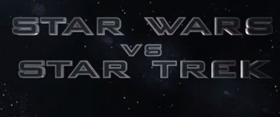 "This 'Star Wars Vs. Star Trek' Trailer Shows The Epic Film The Entire Universe Would Pay To See    Watch what happens when two massive space franchises collide.  With some slick intergalactic editing, YouTube user Alex Luthor splices together a fun imaginary trailer for ""Star Wars Vs. Star Trek."""