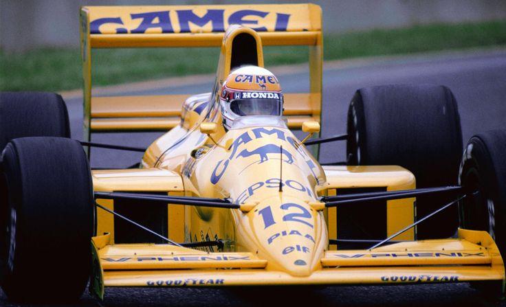 Satoru Nakajima - Lotus 101 (Judd) - 1989 - Japanese GP Suzuka
