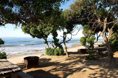 Boosters of Carpinteria have long bragged about its calm, kid-friendly waters, and the little town's beach-adjacent campground and highly strollable Linden Avenue are additional selling points.