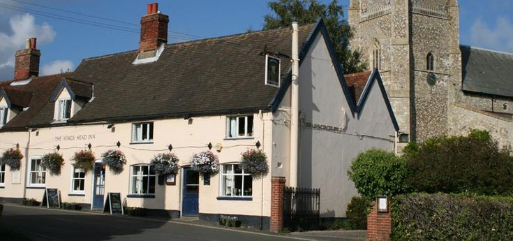 The King's Head, Orford, Suffolk, UK, England. Holiday, Travel, Accommodation, Inn, Pub, Staycation,