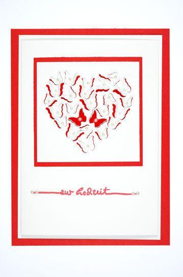 Glückwunschkarte+zur+Hochzeit+von+Inalbo+auf+DaWanda.com