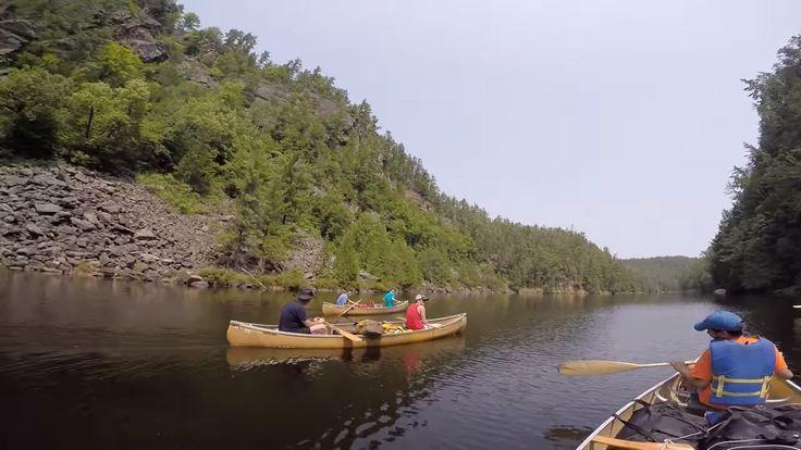 CSB Algonquin Park Canoe Trip through Barron Canyon 2015