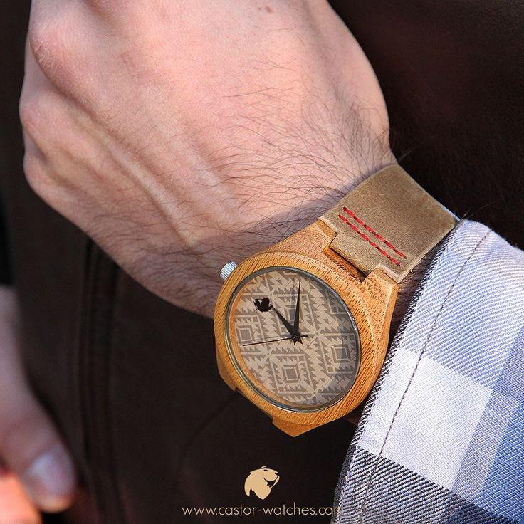Un #reloj Castor TOTEM le dará un toque más casual a tu look. Viste naturaleza ven por tu reloj este verano  en #castorwatches  http://ift.tt/1RZA1G6 . Despacho gratis en todo Chile . Worldwide shipping  #relojes #relojesdemadera #accesorios #woodenwatch #watch #bamboowatch #montre #montres #watches #chile