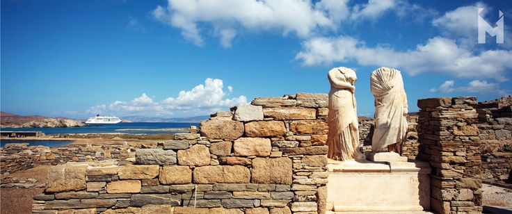 Hello June; hello summer! ☀  The #Cyclades fulfil their collective name (kyklos in #Greek means circle) by encircling the mythical birthplace of Apollo and Artemis, the twin offspring of Zeus by Leto, the sacred island of #Delos, which was a major religious centre for the ancient Greeks in the Archaic and Classical periods, second in significance only to Delphi. In fact, the island was so sacred that, at one point, no one was permitted to be born or to die there! #MentorInGreece