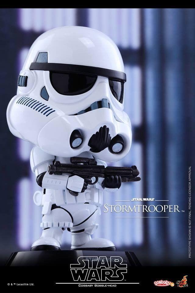 Hot Toys - COSB306 - Star Wars - Stormtrooper Cosbaby Bobble-Head
