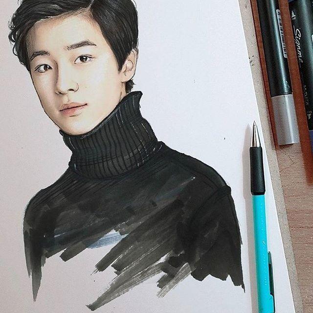 와우~~ 감사합니다^^ #남다름 #아들그림 #그림선물
