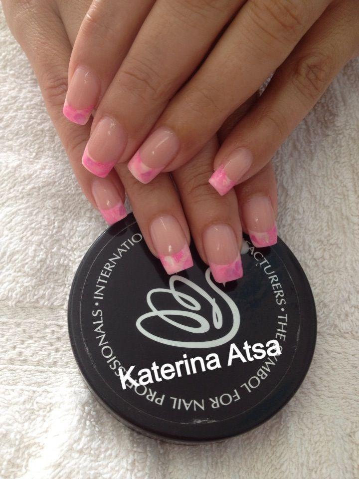 INM Acrylic Nail System  @NAILS Magazine  @INM Nails  @katerina_atsa_nails
