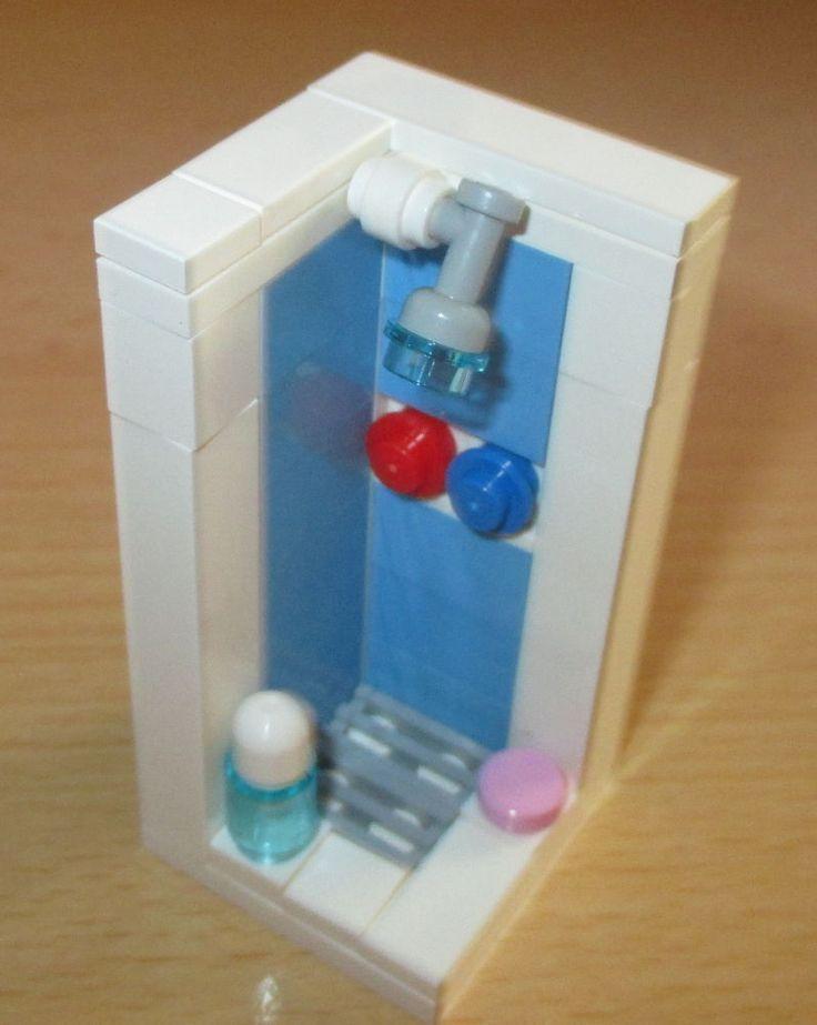 Lego City Zubehor Coole Dusche Spielzeug Baukasten
