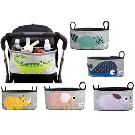 Baby nappy bags | Buy online and save 3 Sprouts Stroller Organizer - 5 Designs