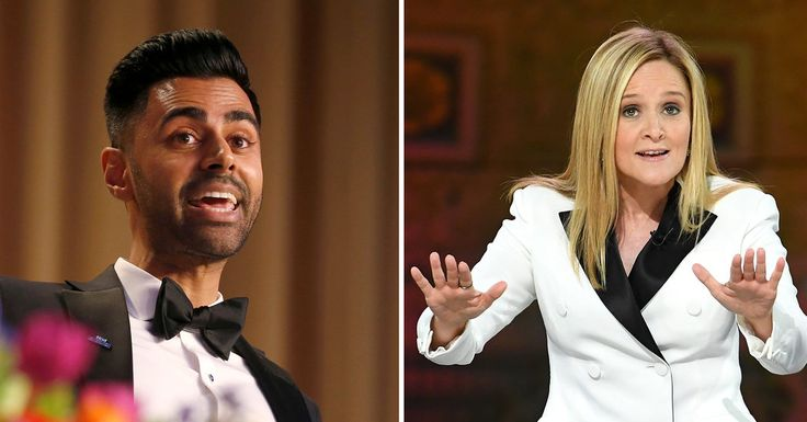 In Dueling Events, Samantha Bee and Hasan Minhaj Target Trump, Fox News and CNN - The New York Times