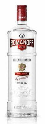 Romanoff Vodka (750ml, 37.4%)