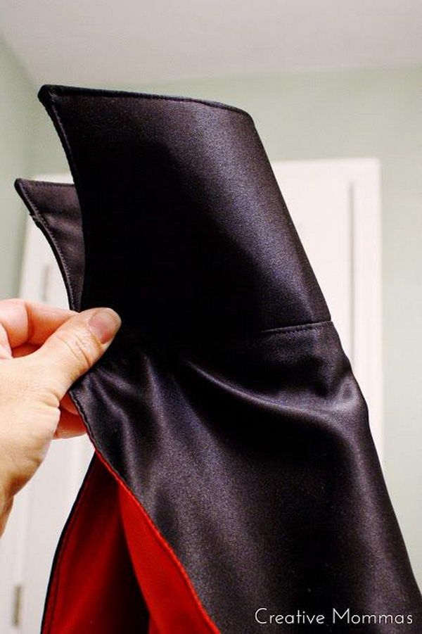 DIY Vampire Cape Tutorial.