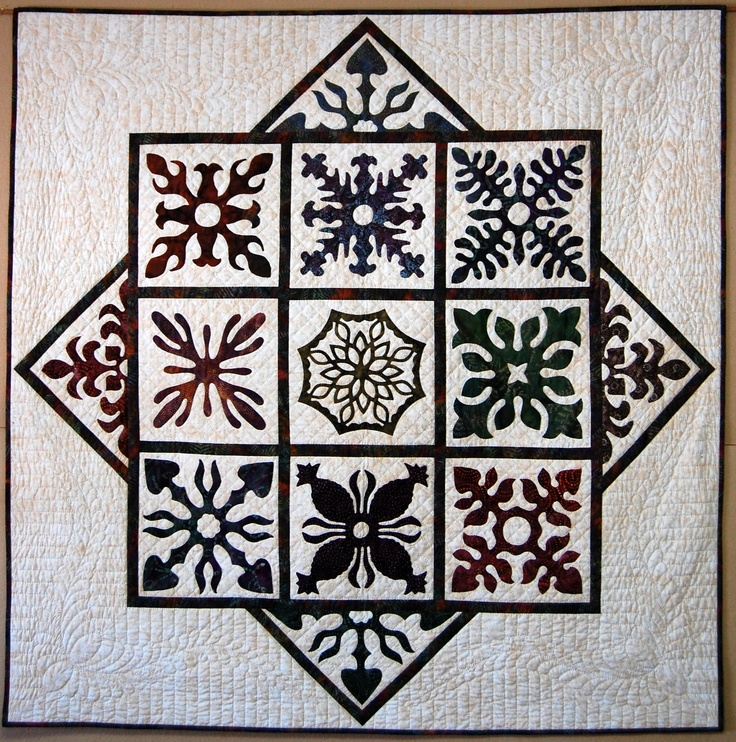 2010 Mennonite Relief Sale quilt, designed and coordinated by Renske Helmuth, 60 by 60 inches. Hand appliqued by members of the Waterloo County Quilters Guild and hand quilted by members of the Listowel Mennonite Church (Ontario, Canada)