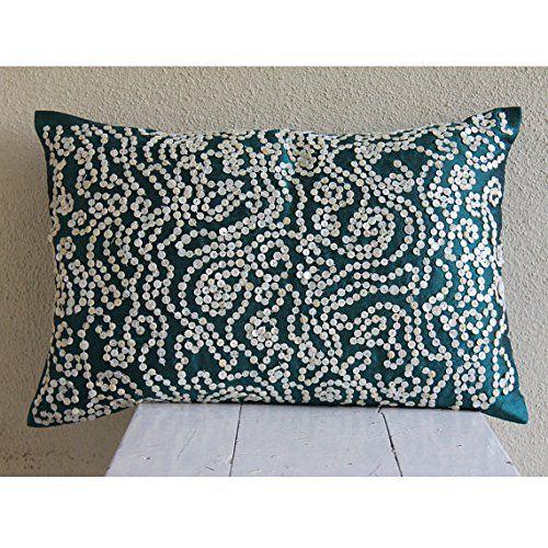 Royal Green Lumbar Pillow Cover, Mother Of Pearls Lumbar ... https://www.amazon.com/dp/B00VDDN6EK/ref=cm_sw_r_pi_dp_x_wCHcyb5APP097