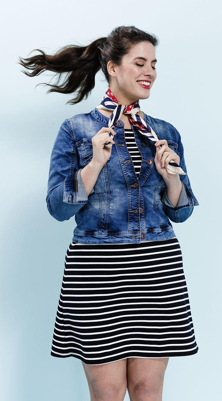 Een spijkerjasje mag niet ontbreken in je basis garderobe.  #denim #spijkerjas #dames