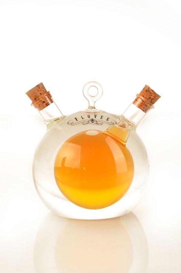 Flovee Honey Packaging by Archy Sinatrya, via Behance