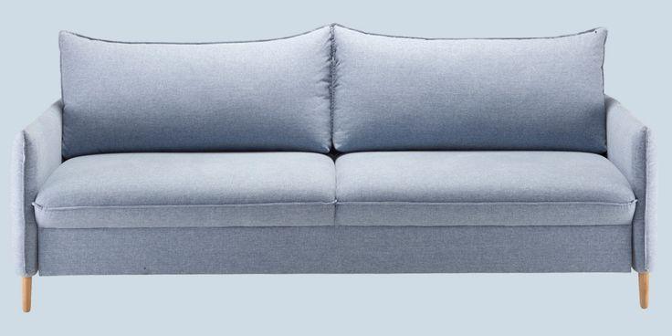 Sinisävyjä keskiviikkoon 💙 Malli: Chic  Vaihtoehdot: 2,5- ja 3-istuttava sohva, modulisohva, vuodesohva, tuoli, rahi Jälleenmyyjä: Isku-myymälät