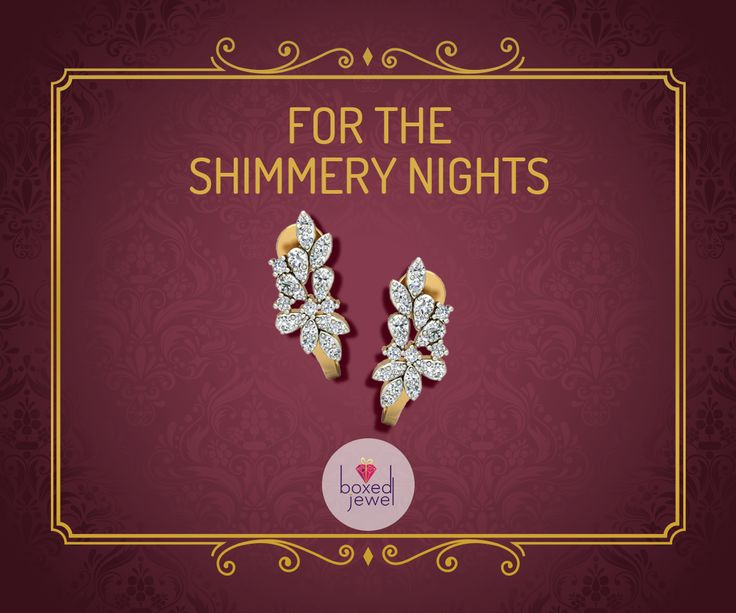 The perfect shimmer for the perfect nights.   #Earrings  #Jhumkas  #Gold  #Jewelry