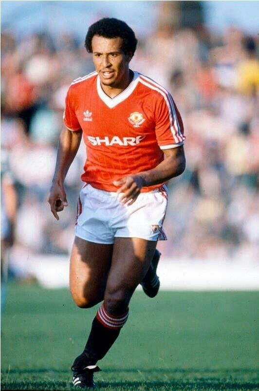 Remi Moses ( WBA & Manchester United) Remi made only (213) Senior Appearances and scored (12) goals.. Remi retired at age 28 after suffering a succession serious injuries.