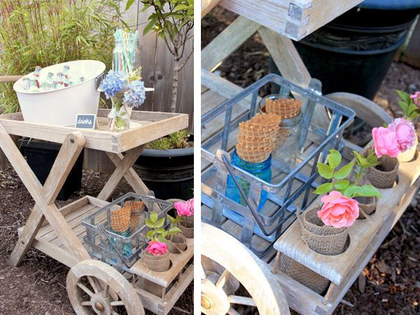 Summer Backyard Party Ideas : Ice cream party, Summer parties and Party ideas on Pinterest