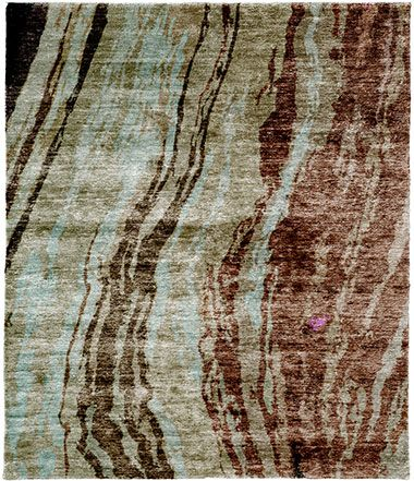 Arbutus D Hand Knotted Tibetan Rug from the Tibetan Rugs 1 collection at Modern Area Rugs