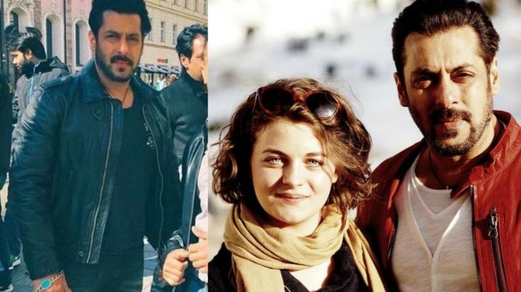 A picture of Salman with Ronja Forcher from the sets has gone viral, leading to speculation about her casting.The sequel of the film 'Ek Tha Tiger' titled 'Tiger Zinda Hai' kicked off in grand style in Austria where the lea