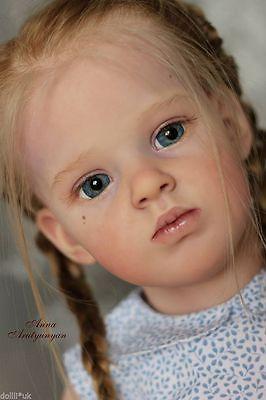 "Emilia By Natali Blick 31.5"" Reborn Toddler KIT Limited Edition KIT ONLY !!"