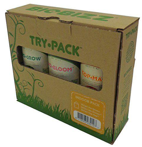 BioBizz Intérieur Essayez Lot: Pack kit d'engrais de cannabis Stimulateur de floraison et engrais Engrais pour-Couleur : Cet article…