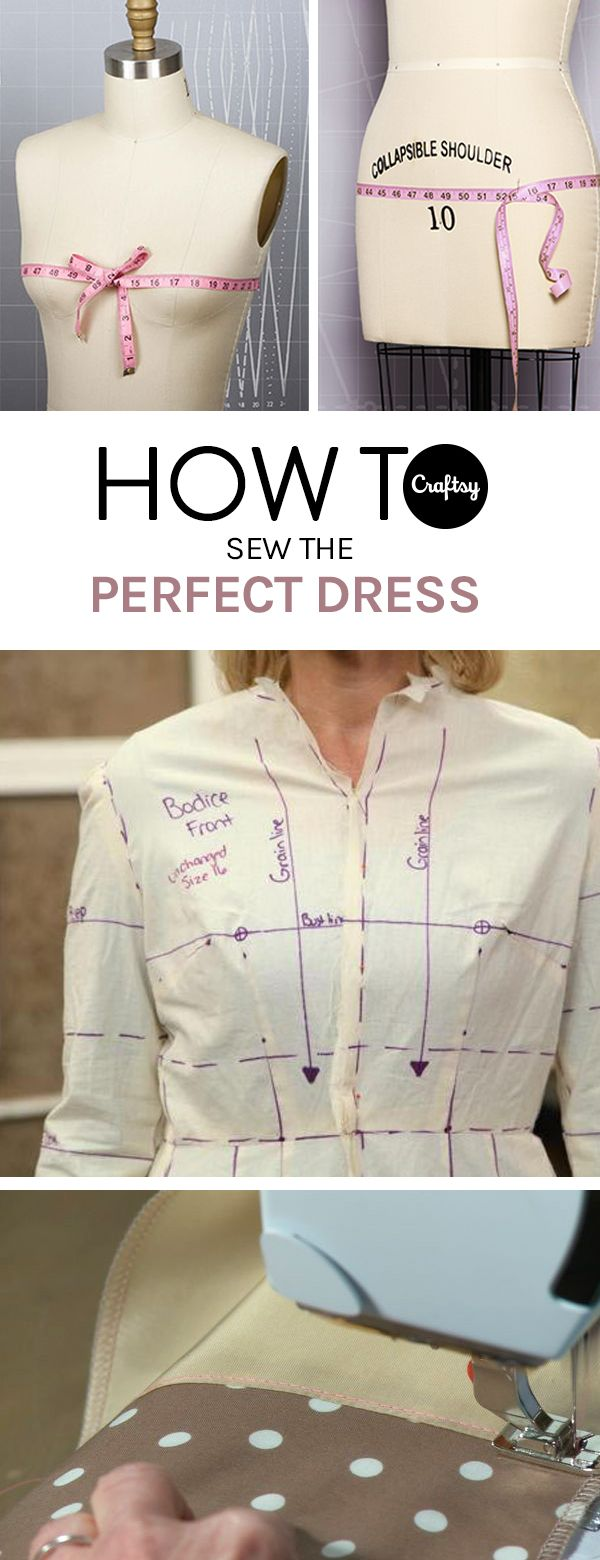 Planning on sewing your own dress? Take a look at these tips and techniques before you get started and make the process a breeze.