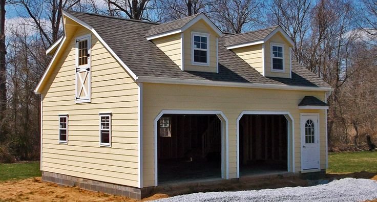 103 best images about exterior on pinterest exterior for Modular garage addition