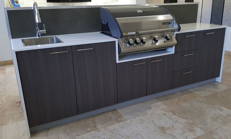 Cantina 4 with Sink, Tulip Cabinets and Blanco Benchtop