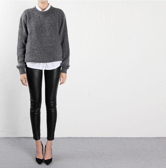 Leather / neutrals / court shoes #photofy