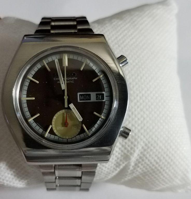 Vintage 1974 Seiko Automatic Chronograph 6139-8020