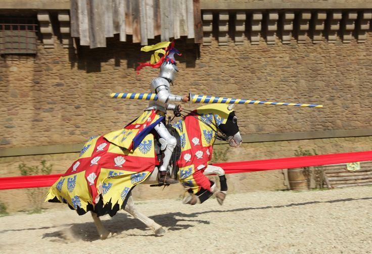 Le Secret de la Lance - Puy du Fou #PuyduFou #Lancier #Chevalier #cavalier #knight #cheval #horse #lance #armure #armor