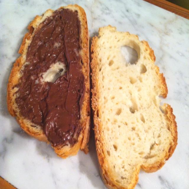 Pane e Pane & Nutella