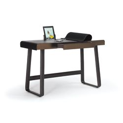 The Pegasus Home Desk is a small, ingeniously conceived home workplace that provides space for the digital devices that have long since become part of our..