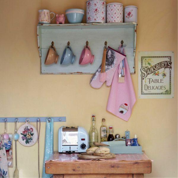 Cozinha Vintage... <3 Spread the Love»»»» Arrendar Lisboa Com Paixão