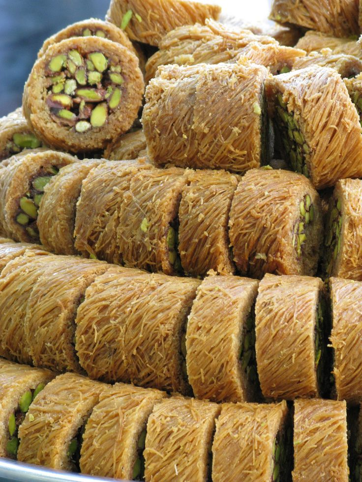 Traditional Turkish Sweet / Istanbul,Turkey                                                                                                                                                                                 More